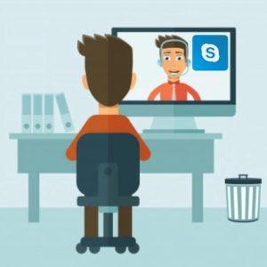assistenza wordpress con condivisione dello schermo su skype
